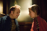 Toby Jones and Saoirse Ronan in