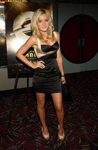AJ Michalka at the New York premiere of