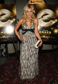 Aly Michalka at the New York premiere of