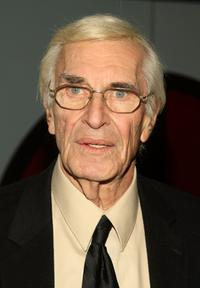 Martin Landau at the New York premiere of