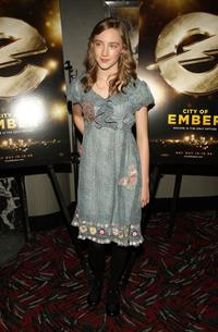 Saorise Ronan at the New York premiere of