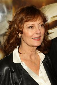 Susan Sarandon at the New York premiere of