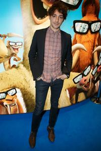 Alex Zane at the London premiere of