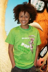 Perri Luc Kiely at the London premiere of