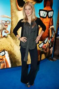 Donna Air at the London premiere of