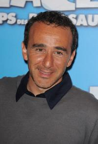 Elie Seymoun at the France premiere of