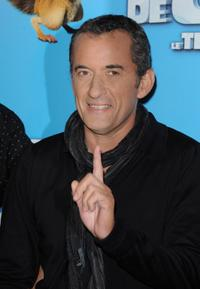 Christophe Dechavanne at the France premiere of