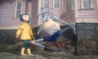 Coraline Jones and Mr. Bobinsky in