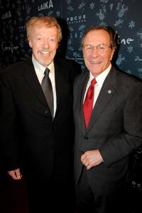 Phil Knight and Ted Kulongoski at the premiere of