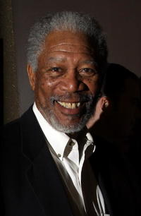 Actor Morgan Freeman at the N.Y. premiere of