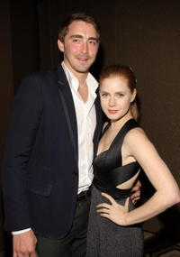 Actor Lee Pace and Amy Adams at the N.Y. premiere of