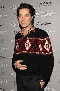 Musician Rufus Wainwright at the N.Y. premiere of