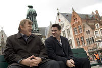 Brendan Gleeson and Colin Farrell on the set of in