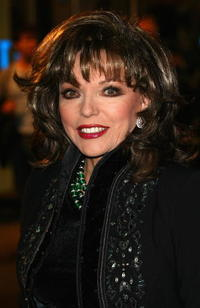 Actress Joan Collins at the London premiere of