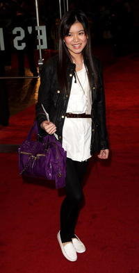 Actress Katie Leung at the London premiere of
