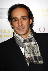 Alexandre Desplat at the London premiere of