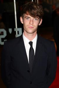 Harry Treadaway at the London premiere of