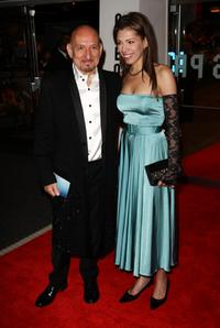 Ben Kingsley and Guest at the London premiere of