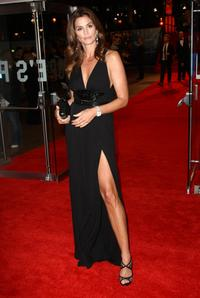 Cindy Crawford at the London premiere of