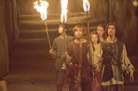 Skandar Keynes, William Moseley, Georgie Henley, Anna Popplewell and Ben Barnes in