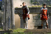 William Moseley and Skandar Keynes in