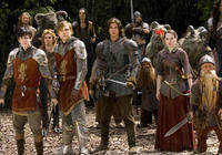 William Moseley, Skandar Keynes, Ben Barnes, Anna Popplewell and Peter Dinklage in