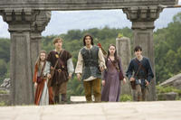 Georgie Henley, William Moseley, Ben Barnes, Anna Popplewell and Skandar Keynes in