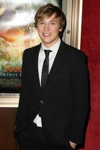 William Moseley at the New York premiere of