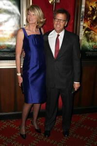 Mark Johnson and his wife at the New York premiere of