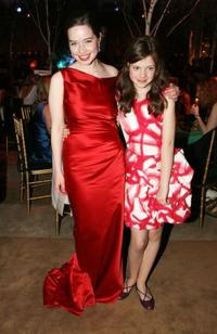 Anna Popplewell and Georgie Henley at the New York premiere of