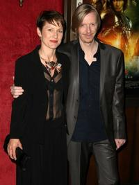 Andrew Adamson and his wife at the New York premiere of