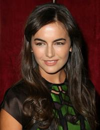Camilla Belle at the New York premiere of