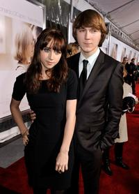 Zoe Kazan and Paul Dano at the California premiere of