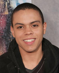 Actor Evan Ross at the L.A. premiere of