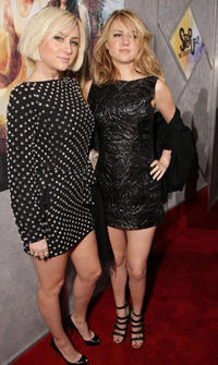 Singers Brit and Alex at the L.A. premiere of