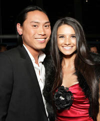 Director Jon M. Chu and actress Alice Greczyn at the L.A. premiere of