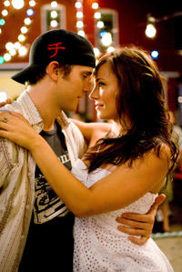 Robert Hoffman and Briana Evigan in