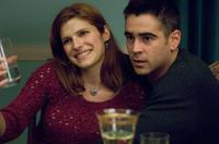 Lake Bell as Megan Egan and Colin Farrell as Jimmy Egan in