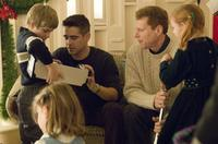 Colin Farrell as Jimmy Egan, Noah Emmerich as Francis Tierney, Jr. with children (Ty Simpkins and Ryan Simpkins) in