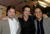 Shea Whigham, Frank Grillo and John Ortiz at the Canada premiere of