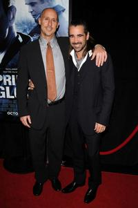 Director Gavin O'Connor and Colin Farrell at the New York premiere of