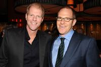 Noah Emmerich and Toby Emmerich at the after party of the New York premiere of