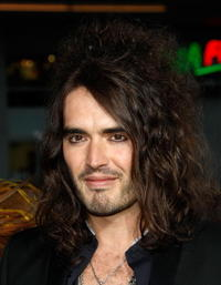 Actor Russell Brand at the Hollywood premiere of