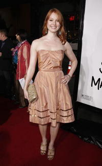 Actress Alicia Witt at the Hollywood premiere of