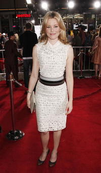 Actress Elizabeth Banks at the Hollywood premiere of
