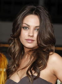 Actress Mila Kunis at the Hollywood premiere of