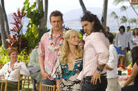 Jason Segel, Kristen Bell and Russell Brand in
