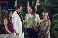 Mila Kunis, Jason Segel, Russell Brand and Kristen Bell in