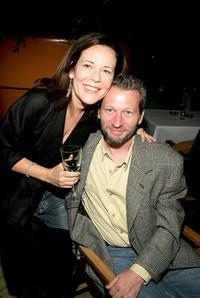 Director Ken Kwapis and Producer Denise Di Novi at the after party of the New York premiere of
