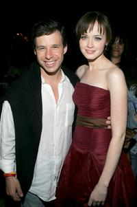 Producer Andrew A. Kosove and Alexis Bledel at the after party of the New York premiere of